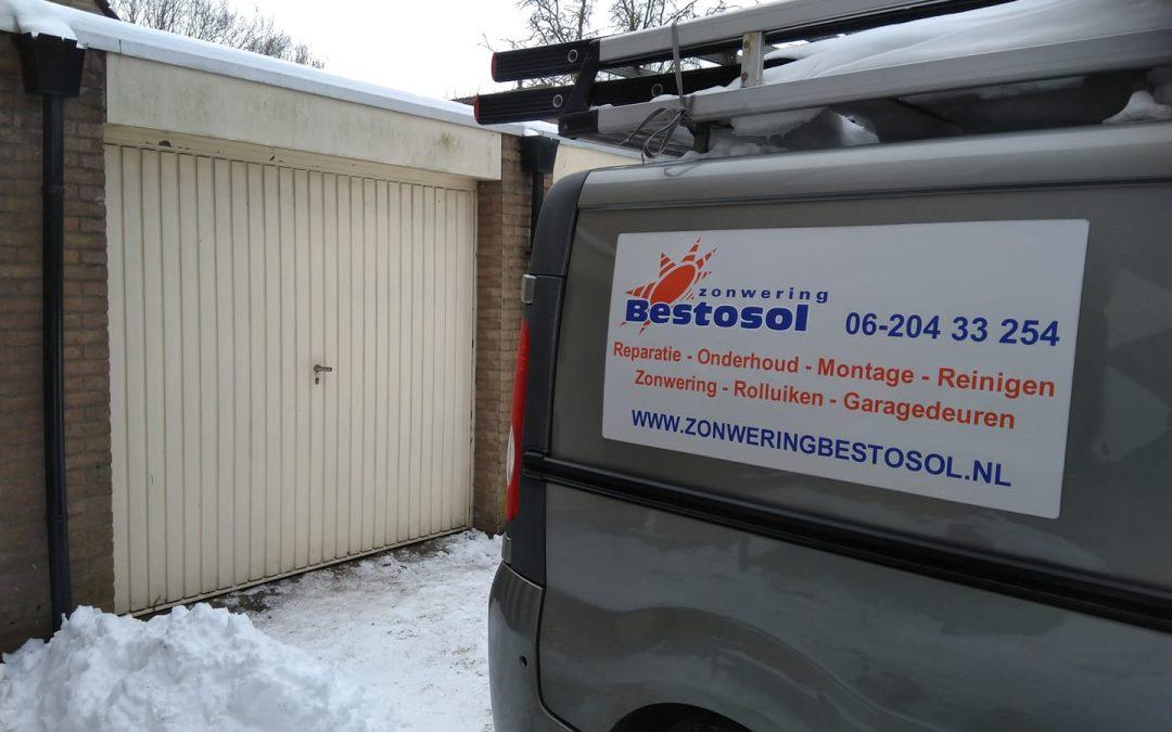 Reparatie garagedeur